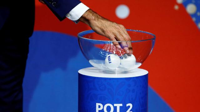 Assim ficam os potes do Mundial'2018. Portugal é cabeça de série