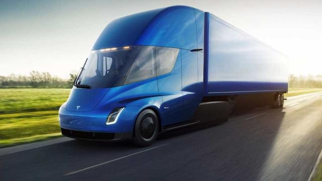 Tesla recebe encomenda (impressionante) de camiões elétricos