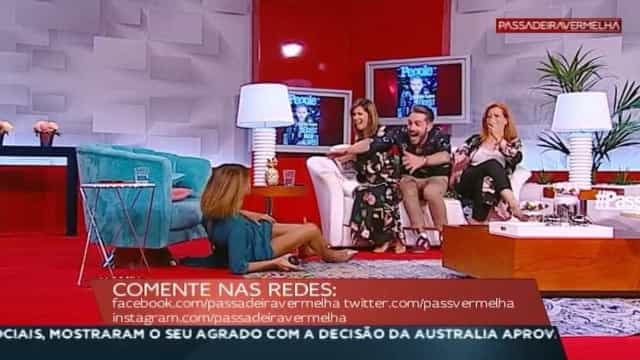 Liliana Campos: A (grande) queda no 'Passadeira Vermelha'
