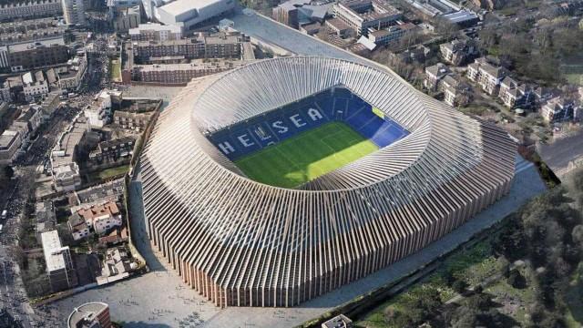 Novo estádio do Chelsea pode tornar-se num dos mais caro da história