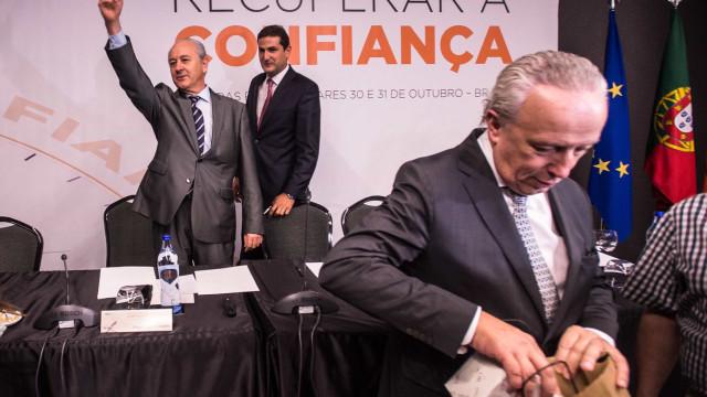 Rio e Santana consideram eleição de Centeno positiva para Portugal