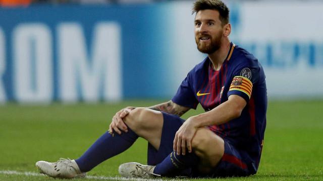 Em pleno Camp Nou, Messi deixou uma promessa