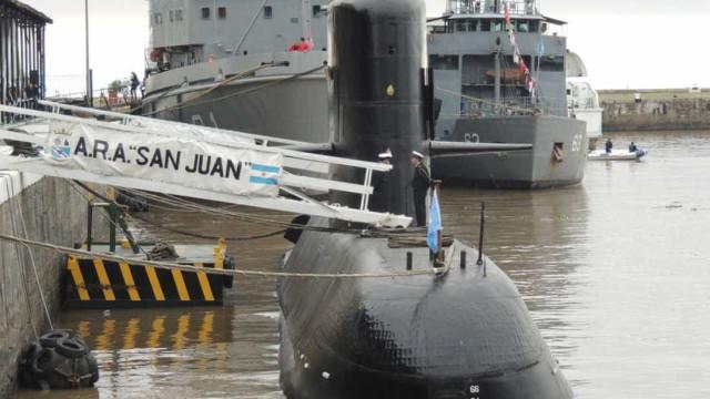 Submarino militar desaparecido há dois dias com 44 militares a bordo