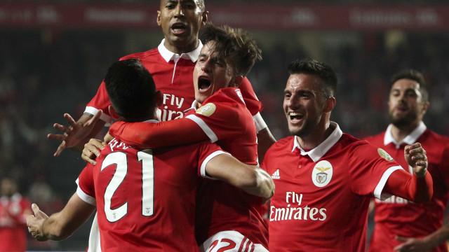 [1-0] Benfica-V. Setúbal: André Sousa tenta 'trair' Varela