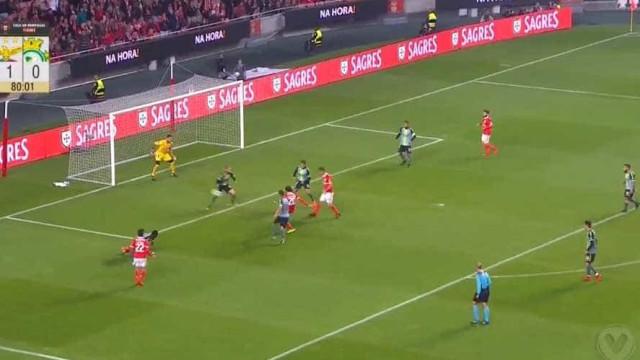 Foi assim que Krovinovic estreou-se a marcar pelo Benfica