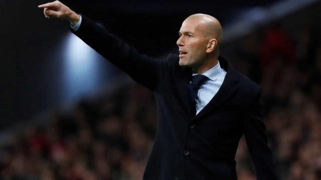 PSG quer Zidane e já iniciou contactos