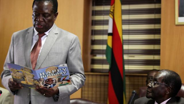 Partido no poder indica Mnangagwa para presidenciais no Zimbabué