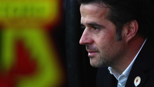 """Marco Silva: """"Everton? Não é justo questionarem o nosso compromisso"""""""