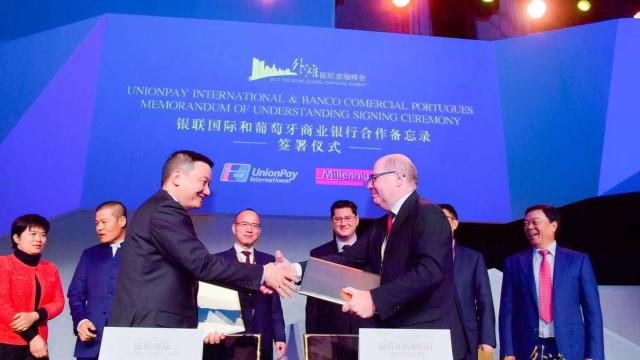 BCP assina acordo para ser primeiro emissor de cartões UnionPay na Europa