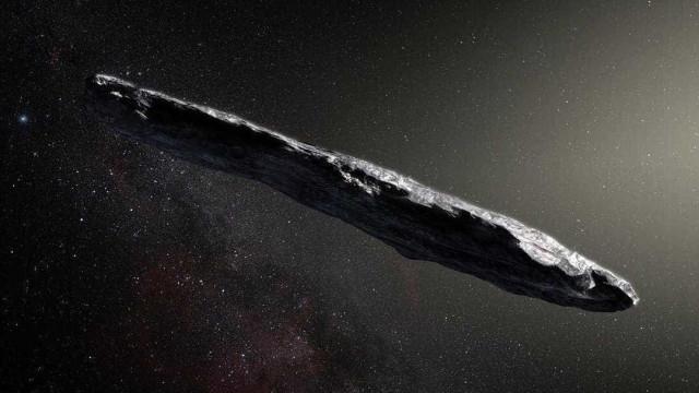 O Sistema Solar recebeu um visitante especial. Um asteróide interestelar
