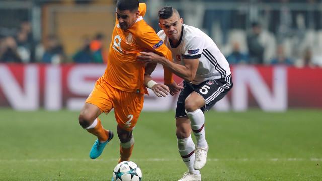 """Pepe deixa desejo: """"Espero que o FC Porto possa passar à fase seguinte"""""""