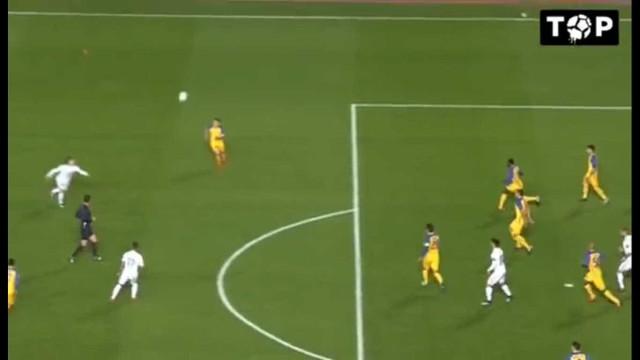 Real Madrid inaugura o marcador com golaço de Modric
