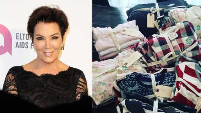 Será que Kris Jenner confirma a gravidez de Kylie e Khloe com esta foto?