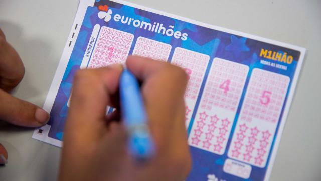 Há jackpot de 46 milhões de euros no próximo sorteio do Euromilhões