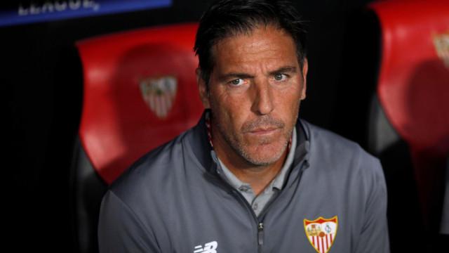 Depois da 'remontada', Sevilha anuncia que treinador sofre de cancro