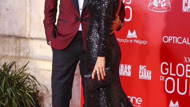 Andreia Rodrigues e Daniel Oliveira assinalam seis meses da filha