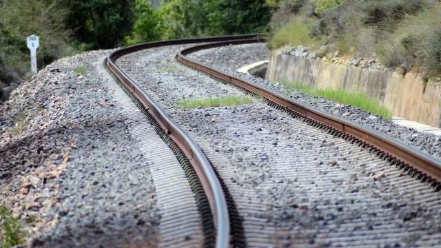 Atropelamento ferroviário em Vila Nova de Gaia