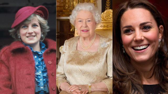 A joia que Isabel II deu à princesa Diana e que agora pertence a Kate