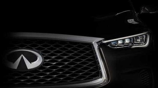"""""""Luxúria e lógica"""": Assim é o primeiro teaser do novo Infiniti QX50"""