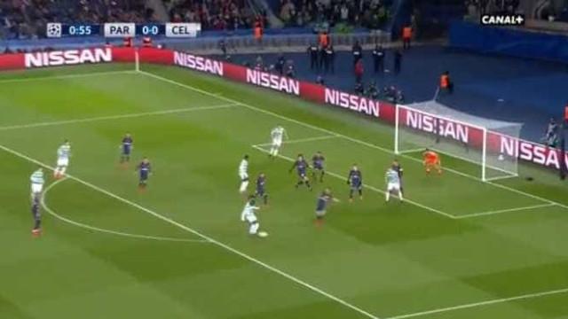 Choque em França: Celtic colocou PSG a perder aos 55 segundos