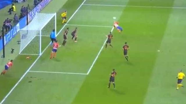 Atenção: Este golo de Griezmann é candidato a melhor da Champions