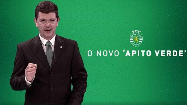 Sporting revela o novo 'Apito Verde'