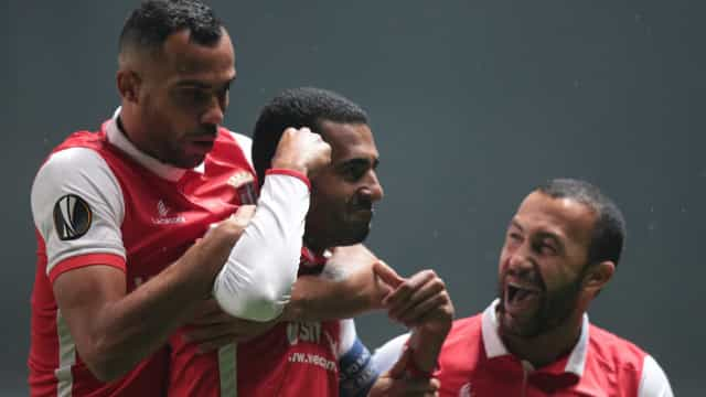 Sp. Braga vence e garante apuramento para a próxima fase da Liga Europa