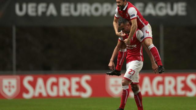 Liga Europa: Sp. Braga sorri e Vitória tem de ir buscar a calculadora