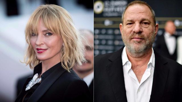"""Uma Thurman para Harvey Weinstein: """"Não mereces uma bala"""""""