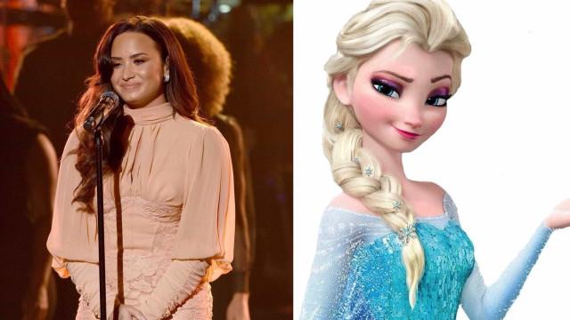Demi Lovato processada por 'plagiar' música do filme Frozen