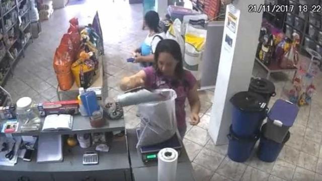 As imagens de um 'ladrão' pouco convencional