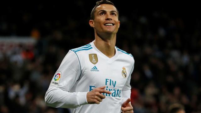 CR7 volta a marcar (e a sorrir) na La Liga e garante triunfo do Real