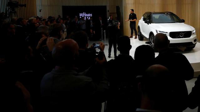 Volvo XC40 já começou a ser produzido na Bélgica. Saiba os preços
