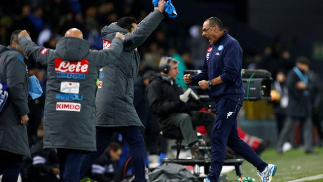 Sarri a caminho do Chelsea, mas quer levar quatro jogadores do Nápoles