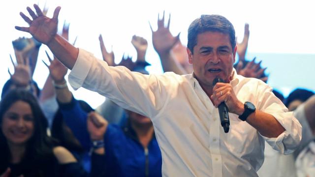 """Presidente das Honduras fala de caravana migratória """"sem precedentes"""""""