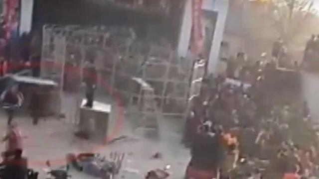 Tigre foge durante espetáculo de circo e deixa população em pânico