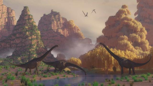 Os dinossauros são de outros tempos, mas estes contos são intemporais