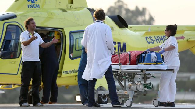 Pastor que caiu em encosta em Seia transportado para Coimbra