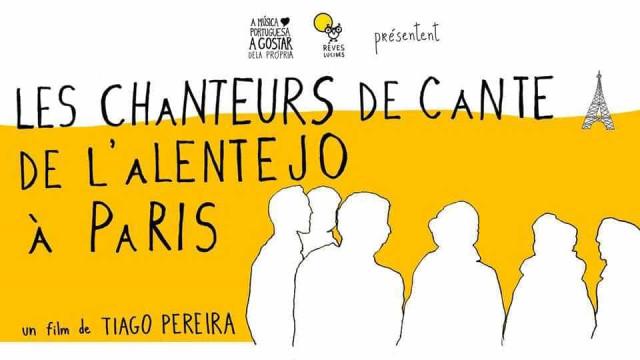 'Os Cantadores de Paris' exibido na capital francesa na sexta-feira