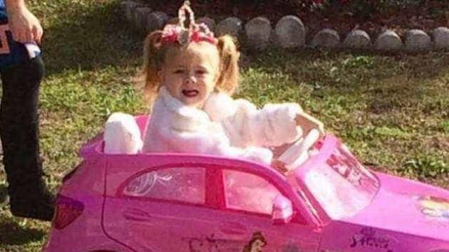 Família lança alerta para desaparecimento de menina de três anos