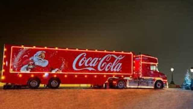 Este Natal, e pela primeira vez, a Coca-Cola oferece oportunidade única