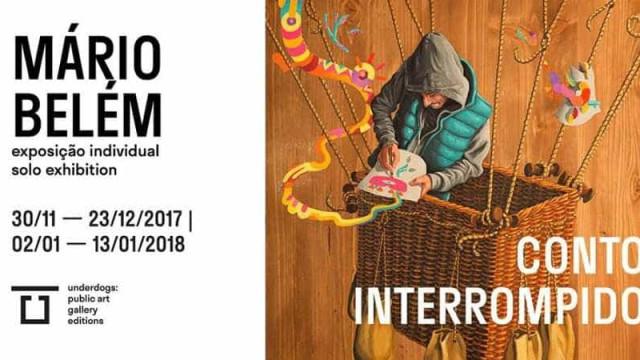 Mário Belém inagura hoje 'Conto Interrompido' na galeria Underdogs
