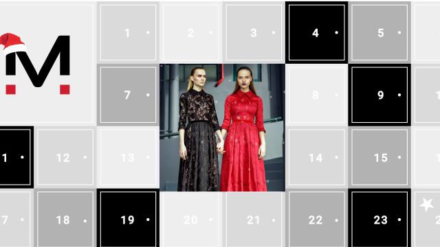 O calendário do advento onde só entra moda nacional