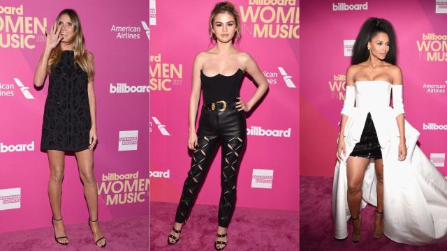 Passadeira vermelha: Os looks nos Billboard Women in Music 2017