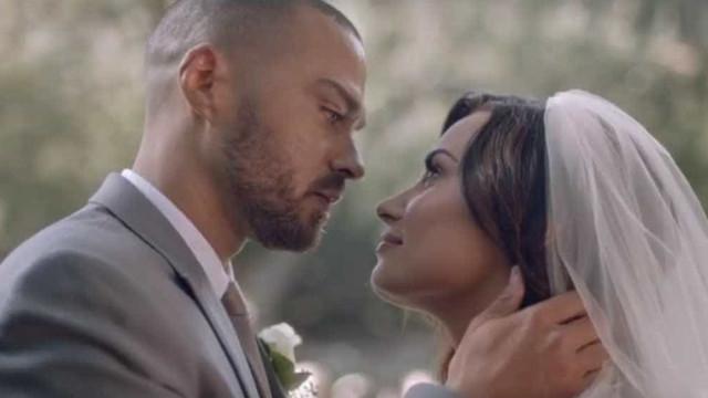 O 'casamento' de Demi Lovato com Jesse Williams, ator de Anatomia de Grey