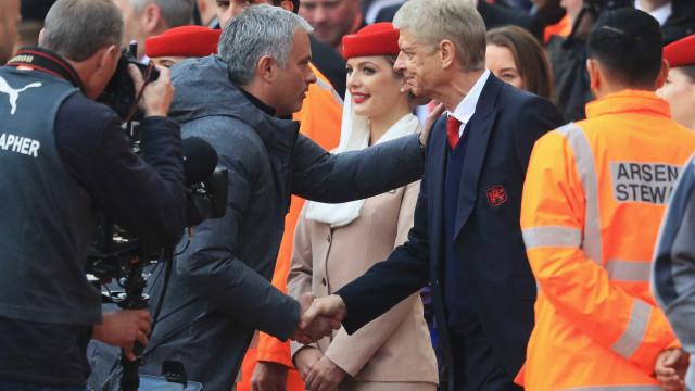 """Wenger e a derrota com Mourinho: """"É a primeira vez que vejo algo assim"""""""