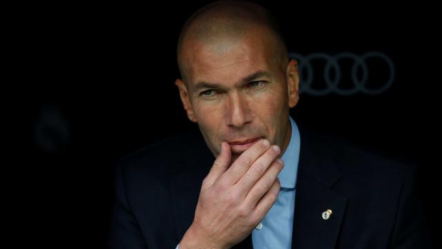 """Zidane: """"No geral não foi uma partida bonita"""""""