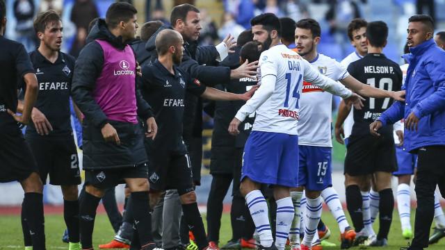 Liga instaura processo após desacatos de Coimbra