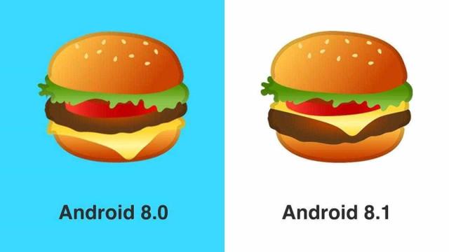 Após críticas, Google altera o burguer emoji