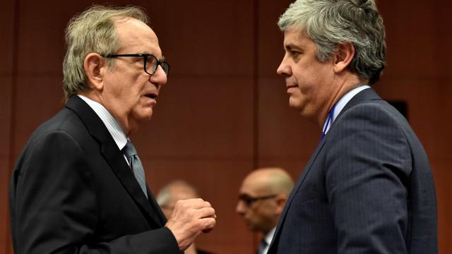 Ministro italiano apoia abertamente Centeno à presidência